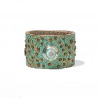 Браслет-кафф бирюзовый (лимитированная коллекция)
